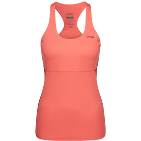 PYUA Joy 2.0 S - Haut sans manches Femme - orange/rouge